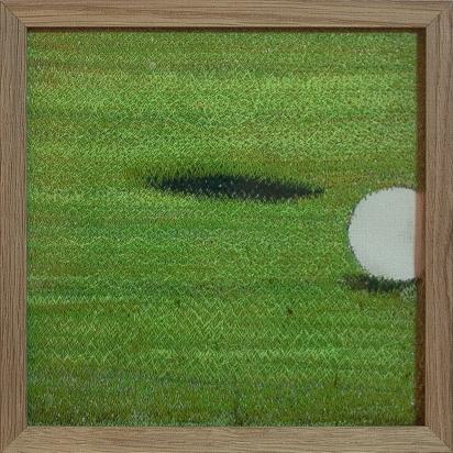 Golf | 20 x 20 cm | broderie machine |