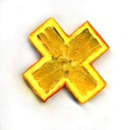 Orange Croix