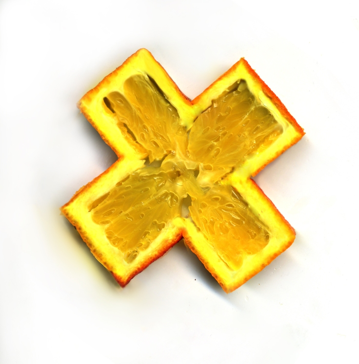 Orange Croix